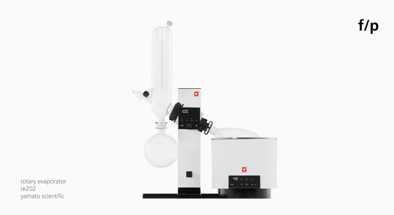 photo of rotary evaporator for yamato scientific